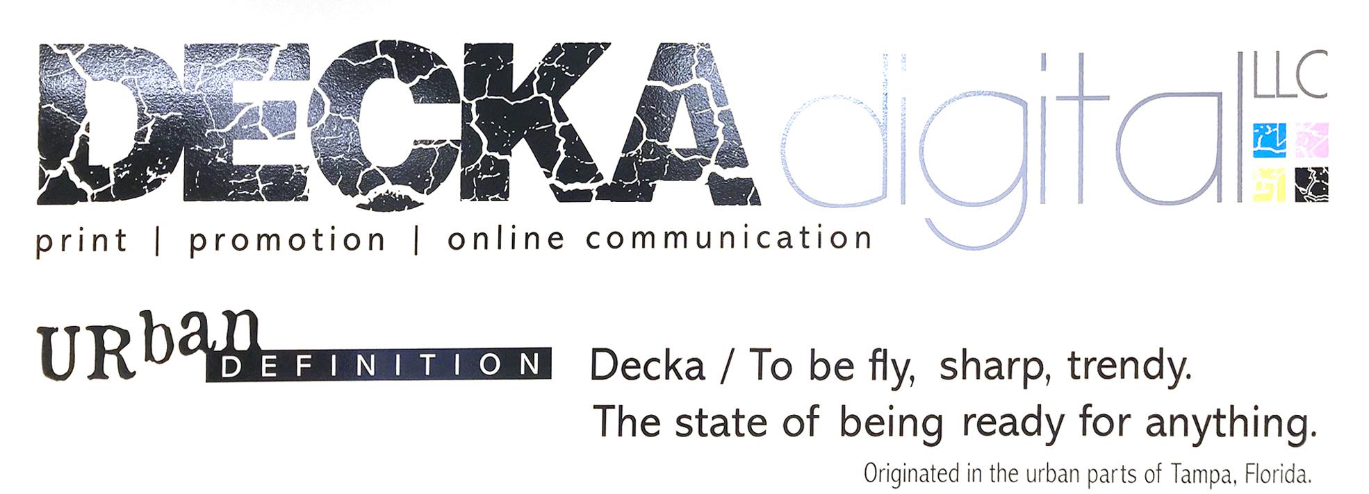 decka digital wall graphic