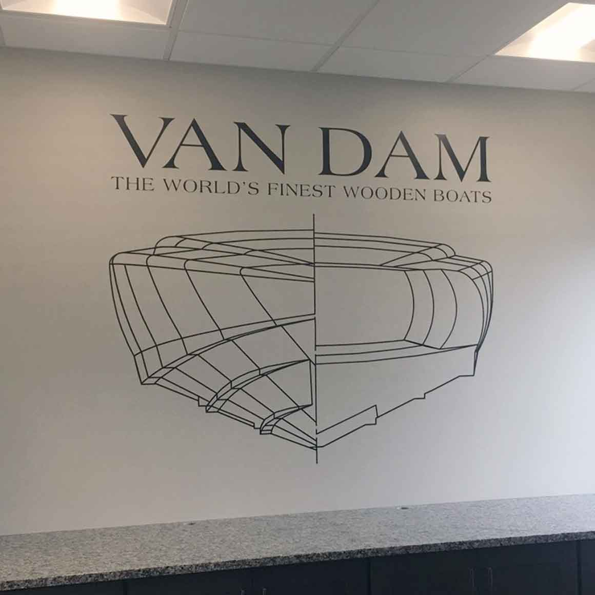 van dam wall graphics